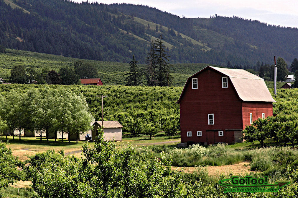 Hood River Valley, Oregon