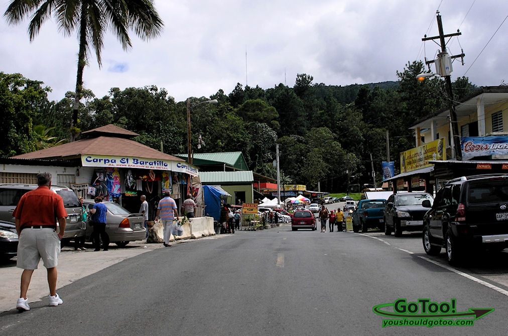 Guavate is bustling with locals, tourist, food and entertainment.
