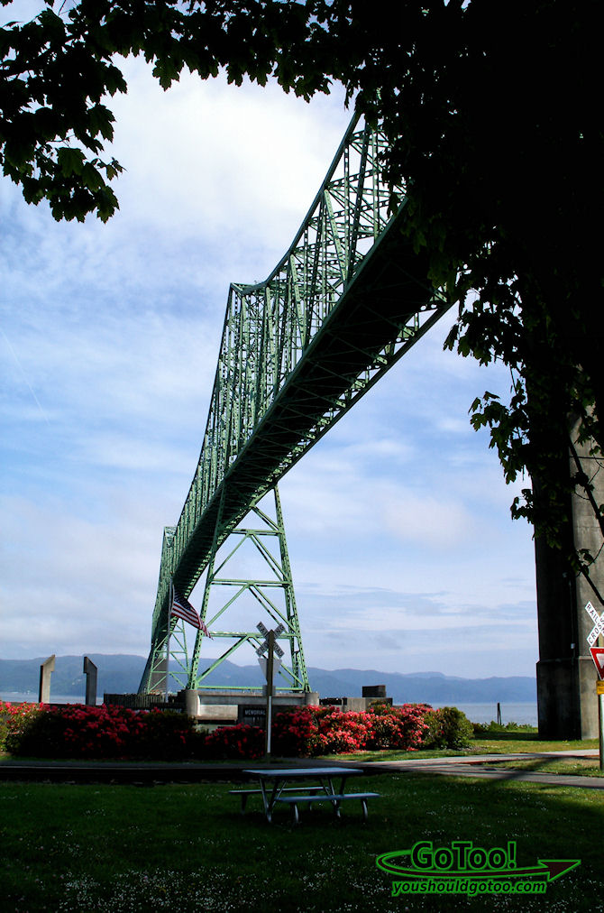 Megler Bridge Astoria Oregon