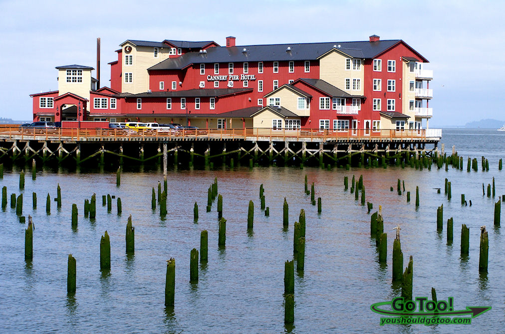 Cannery Pier Hotel Astoria, Oregon