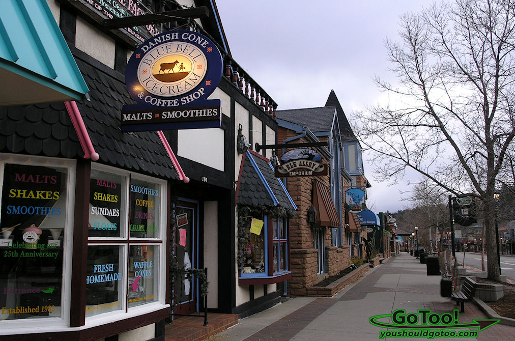The Shops in Estes Park Colorado