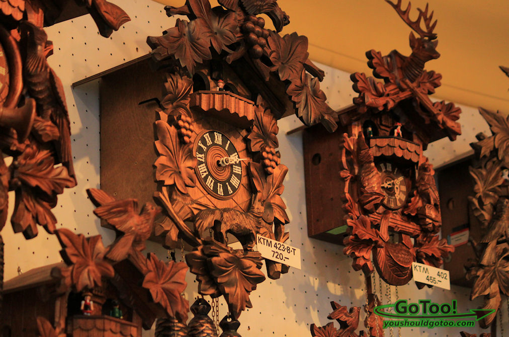 Famous German Cuckcoo Clocks