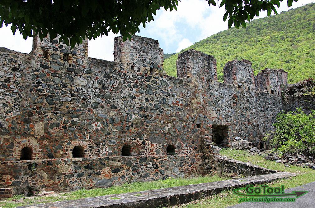 Annaberg Sugar Mill Ruins St John, Virgin Islands