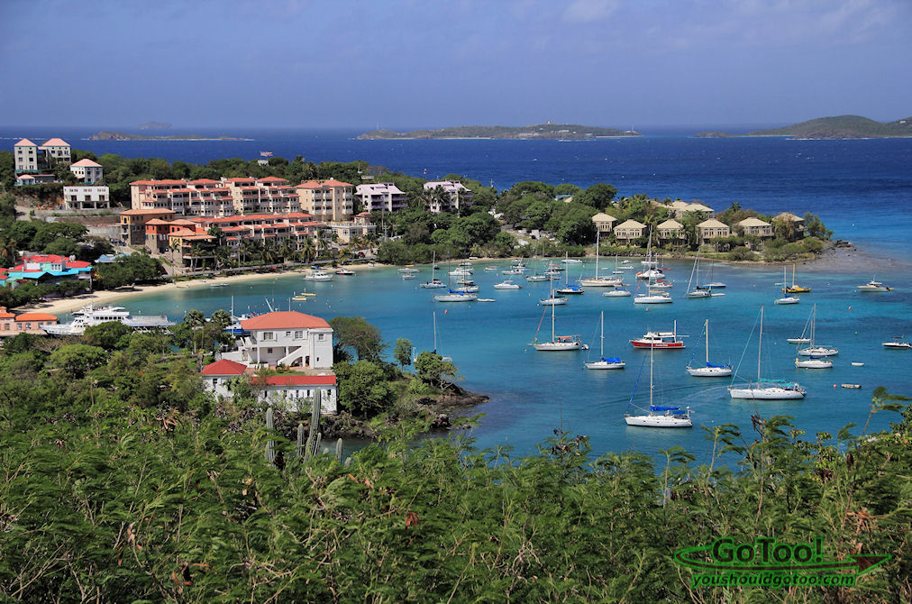 Cruz Bay Harbor, Virgin Island