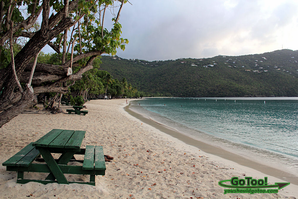Magen's Bay Beach in St. Thomas
