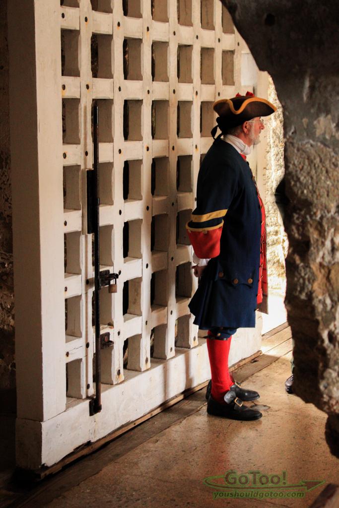 Guarding the Gate of Castillo de San Marcos St Augustine Florida