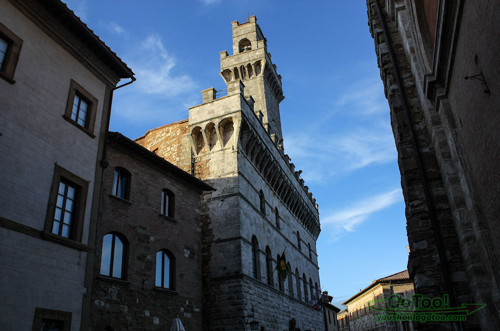 Montepulciano Italy Town Hall