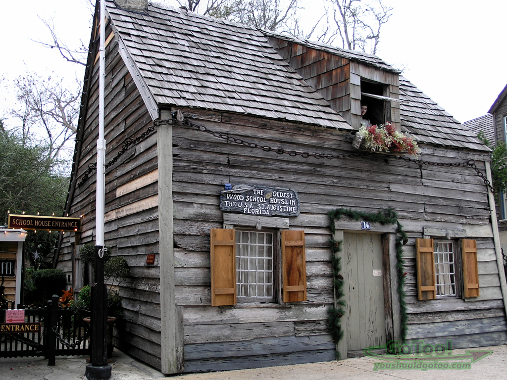 Oldest Wooden School House St Augustine Florida