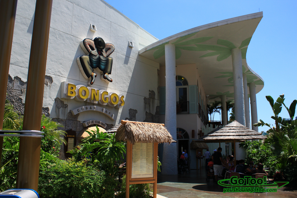 Bongos Cuban Cafe Downtown Disney