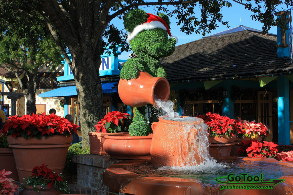 Christmas Time at Disney Marketplace