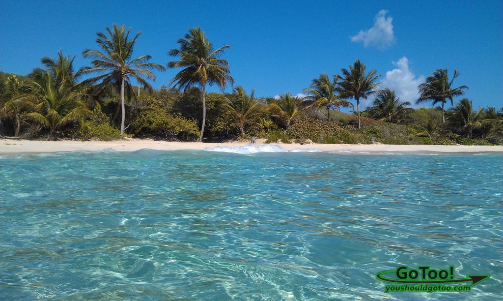 Flamenco Beach Crystal Clear Water