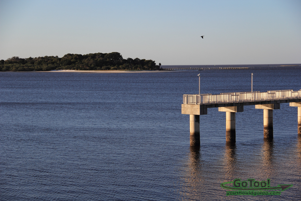 Island and Pier View Cedar Key