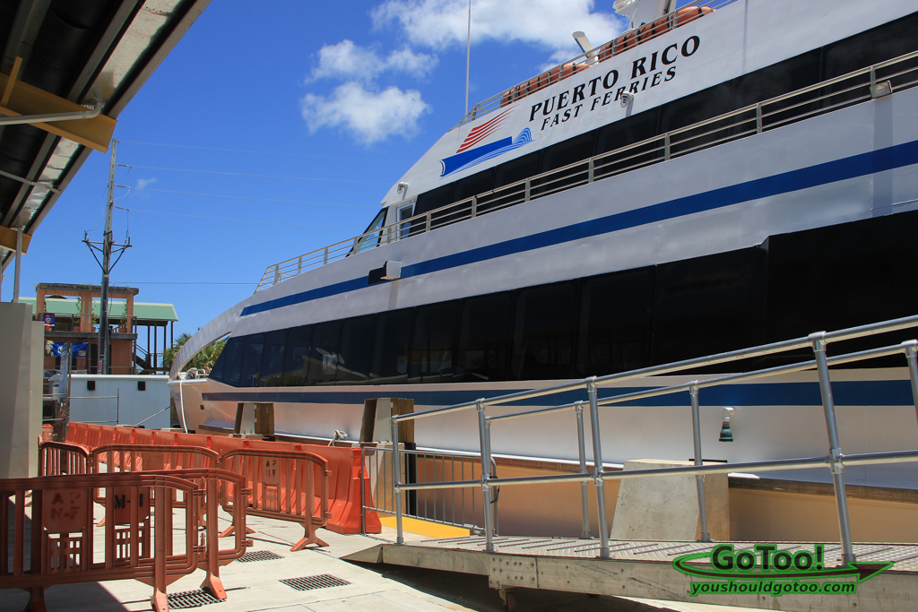 Passenger Ferry to Culebra