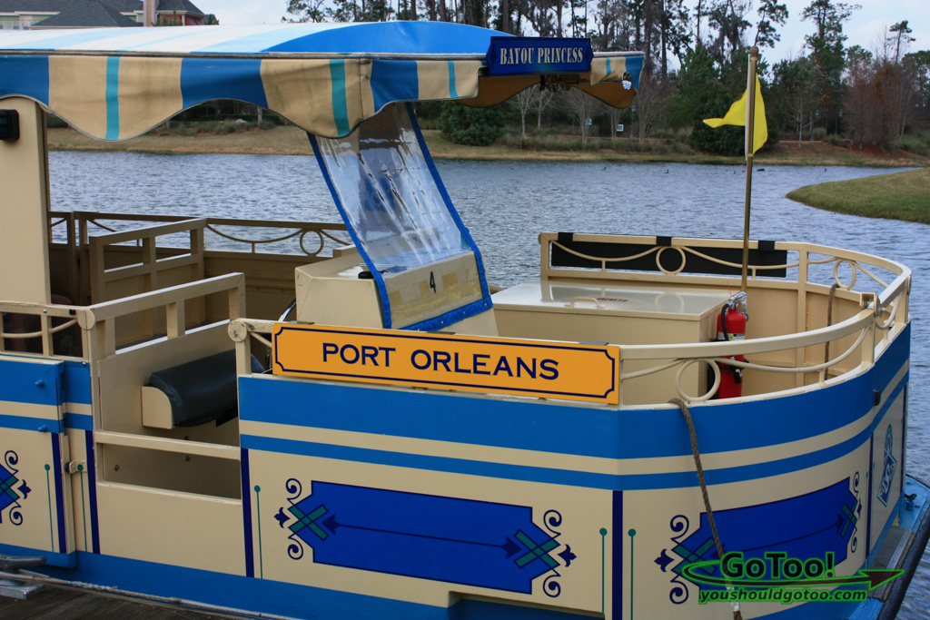 Port Orleans Ferry at Disney