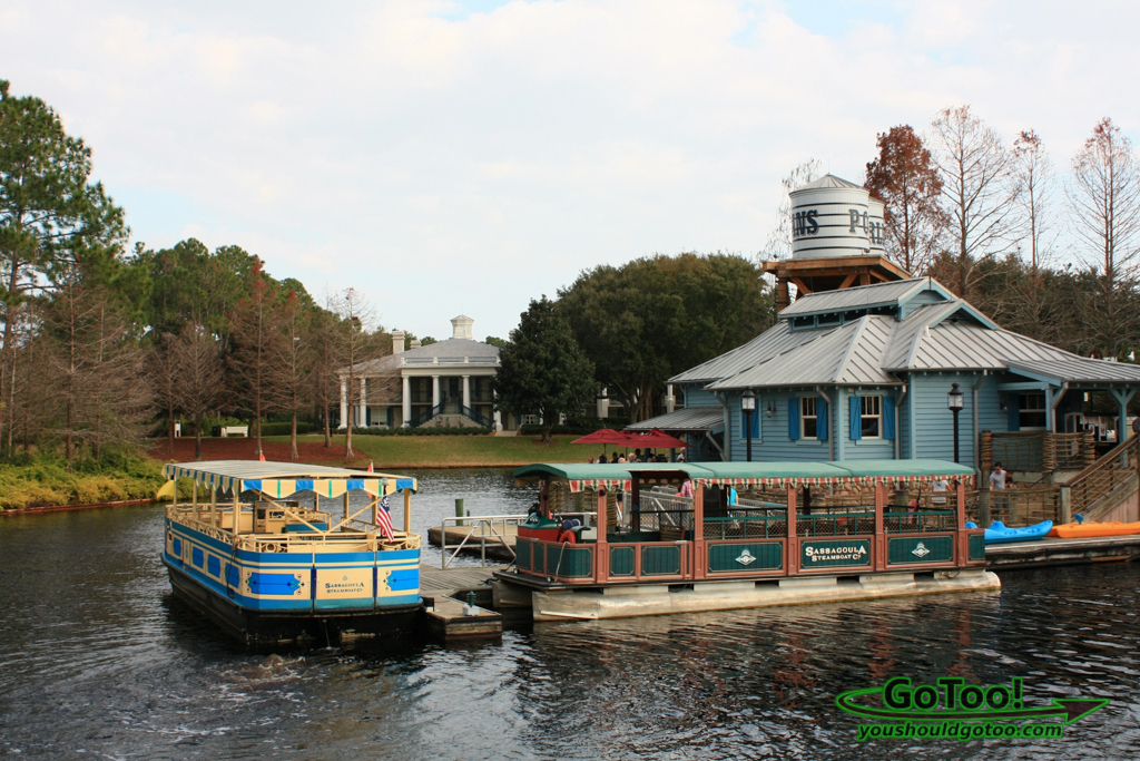 The Sassagoula River Cruise ferry