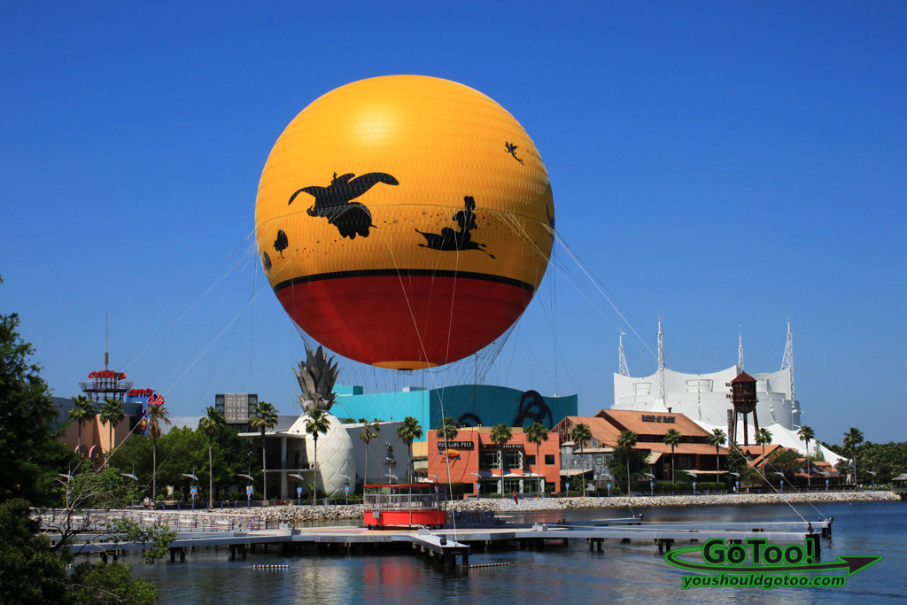 World's Largest Tethered Helium Balloon at Downtown Disney