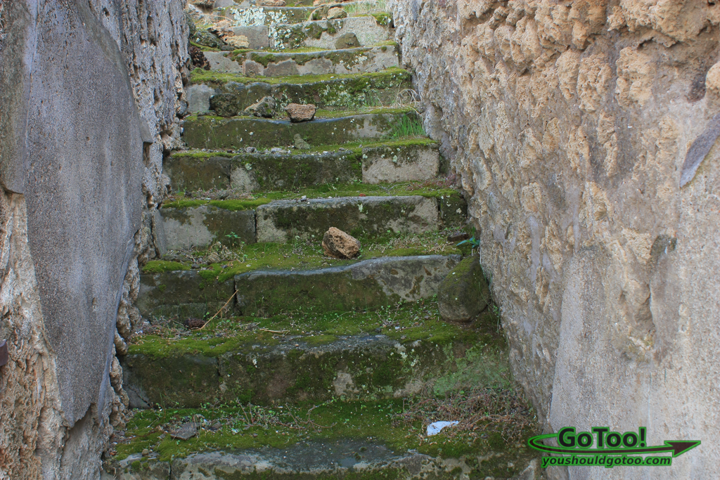 Ancient Steps of Pompeii