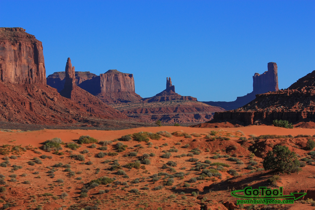 Scenic Monument Valley