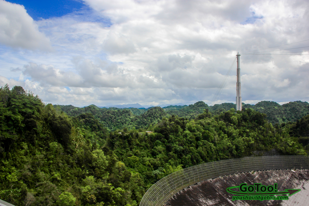 What is the importance of the arecibo observatory for puerto rico?
