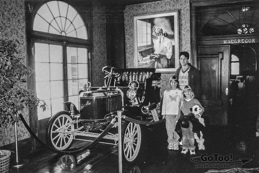 Lobby Stanley Hotel Stanley Steamer Car