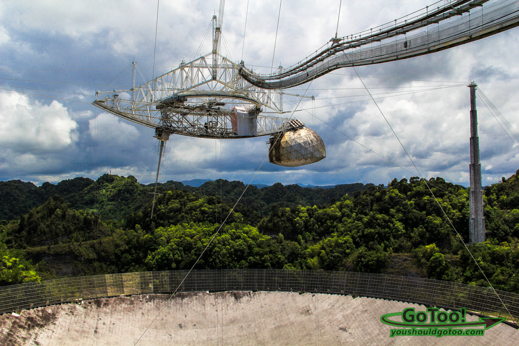 Reflecting Surface of Arecibo Observatory