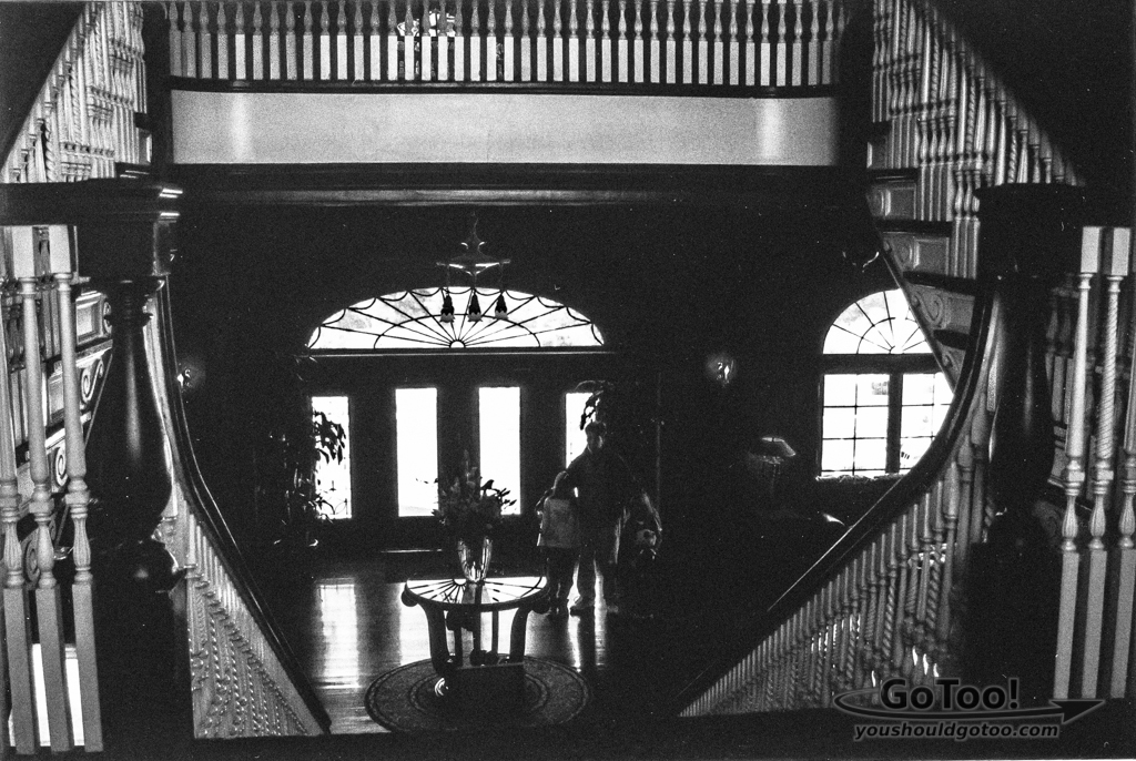 Stanley Hotel Staircase Looking Down to Lobby