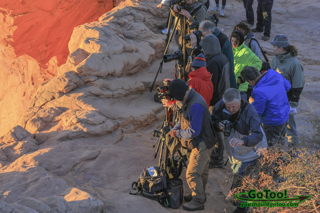 Photographers Mesa Arch Utah