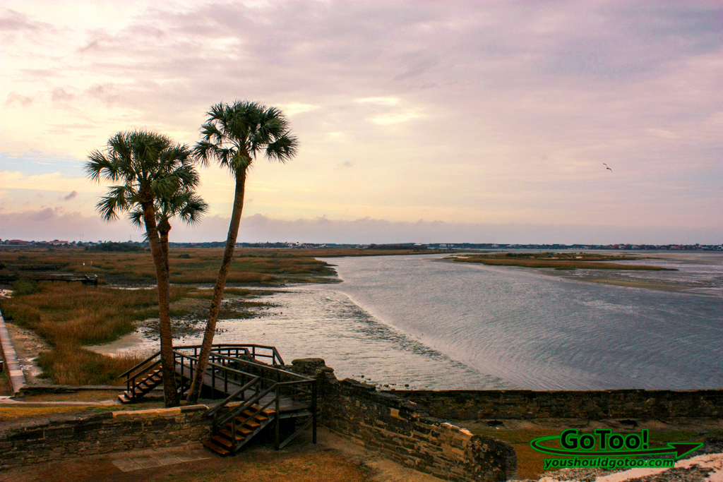 Matanzas River Near First Spanish Settlement in St Augustine Florida