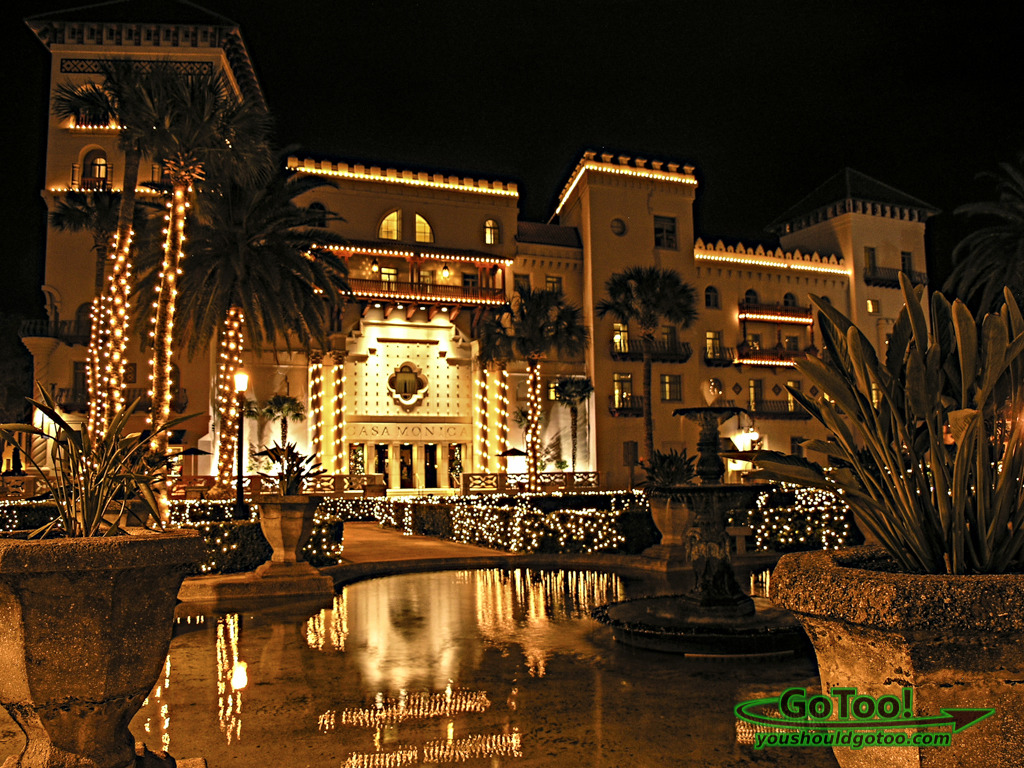 Casa Monica Hotel Nights of Lights St Augustine FL