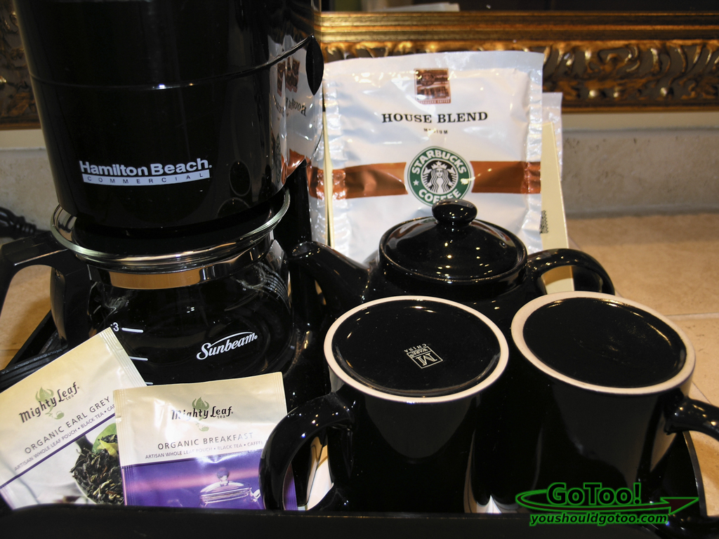 Starbucks Coffee Organic Tea Hotel Casa Monica FL