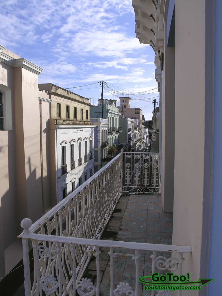 Balcony Da House Hotel San Francisco Street Old San Juan PR