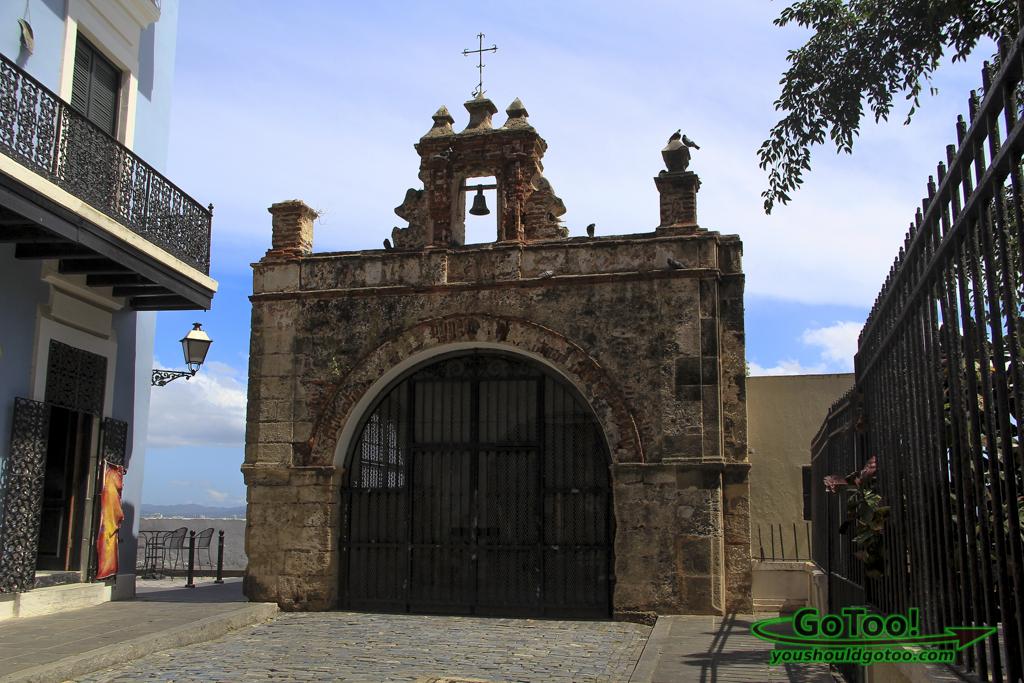 Capilla del Cristo chapel Old San Juan PR
