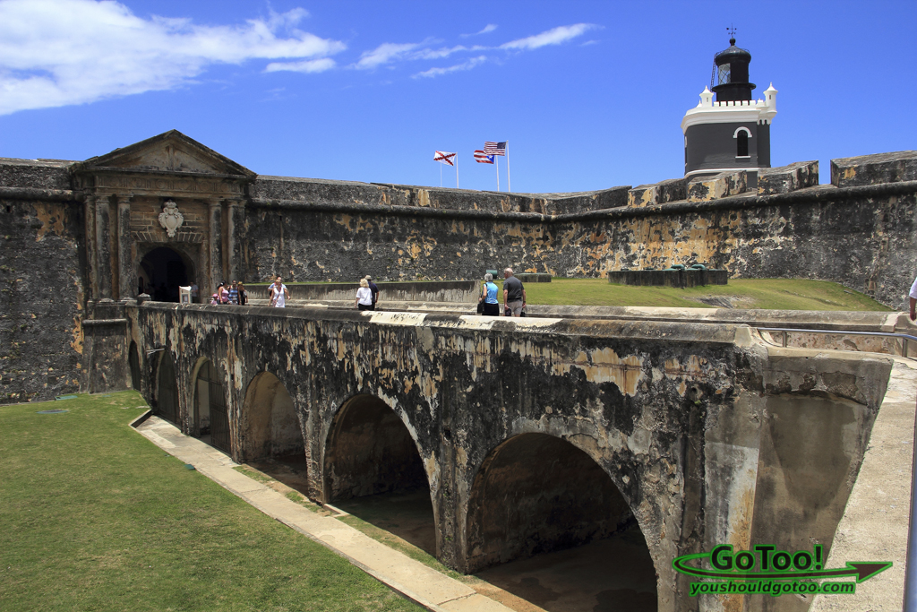 Castillo San Felipe del Morro Fort Old San Juan PR