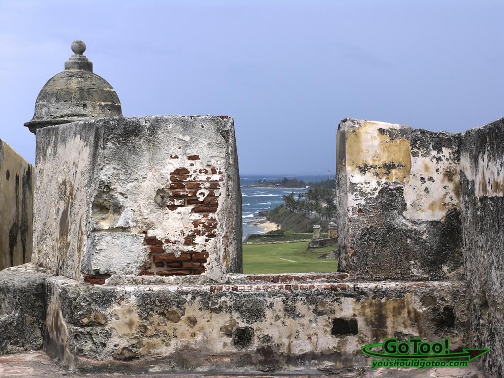 Castillo de San Cristóbal Fort Old San Juan PR