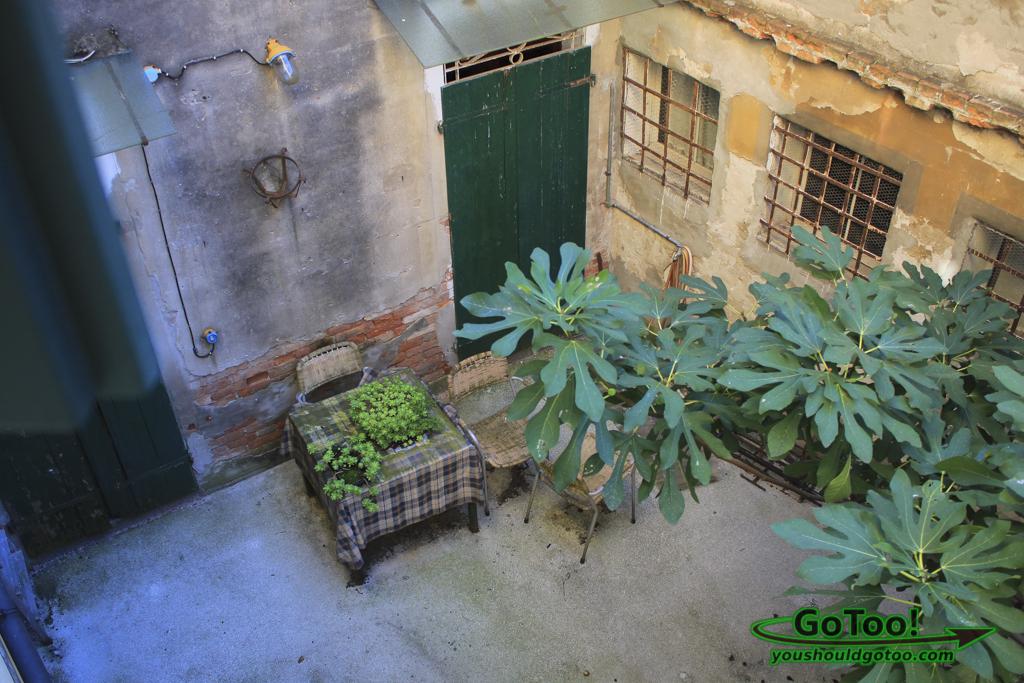 Courtyard View Hotel Apostoli Venice Italy