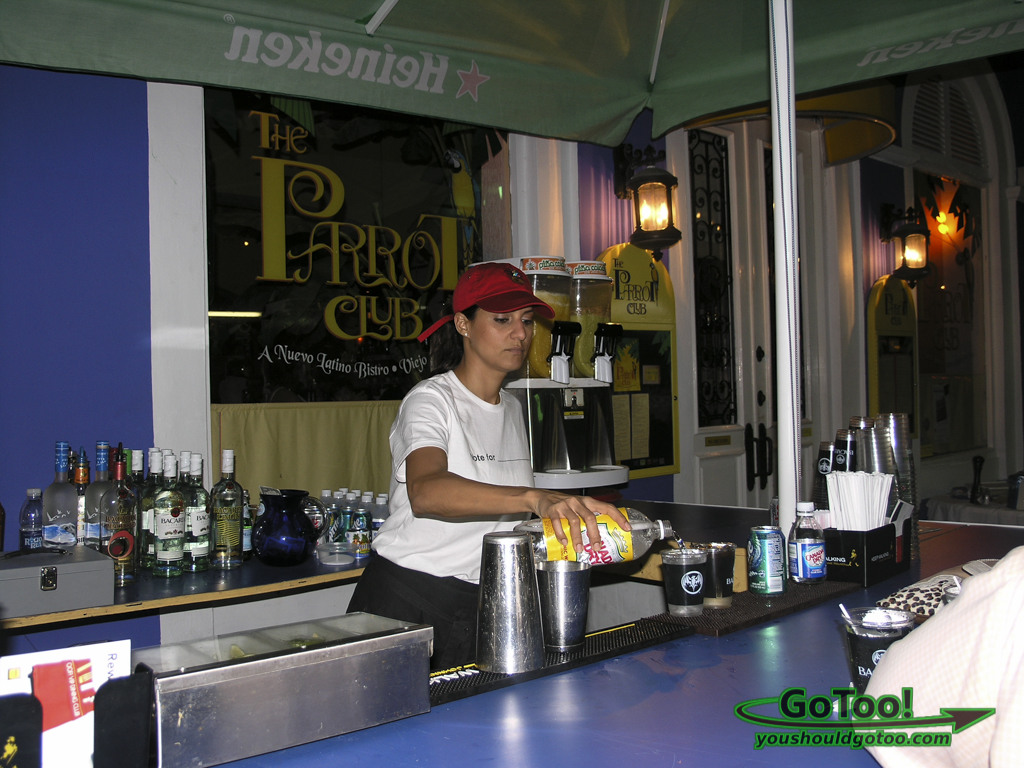 Culinary Fest Parrot Club Fortaleza Street Old San Juan PR