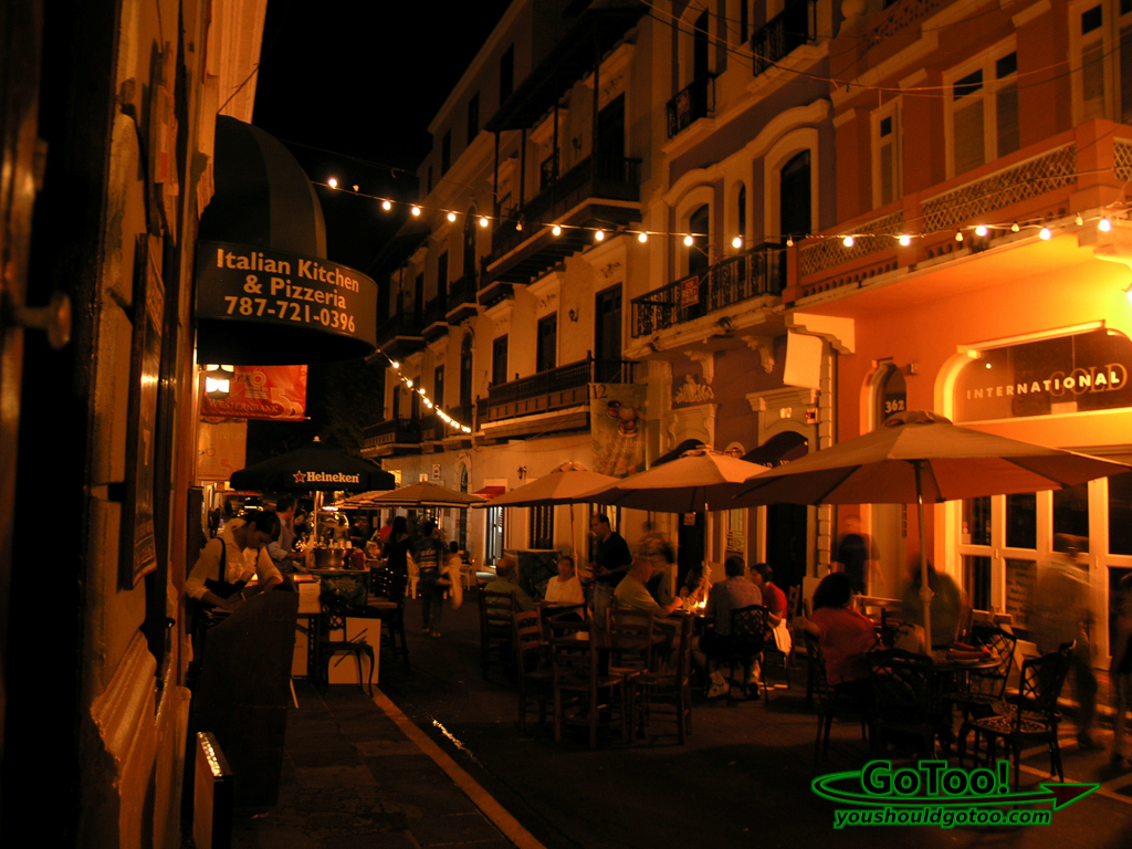 Culinary Fest South Fortaleza Street Old San Juan PR