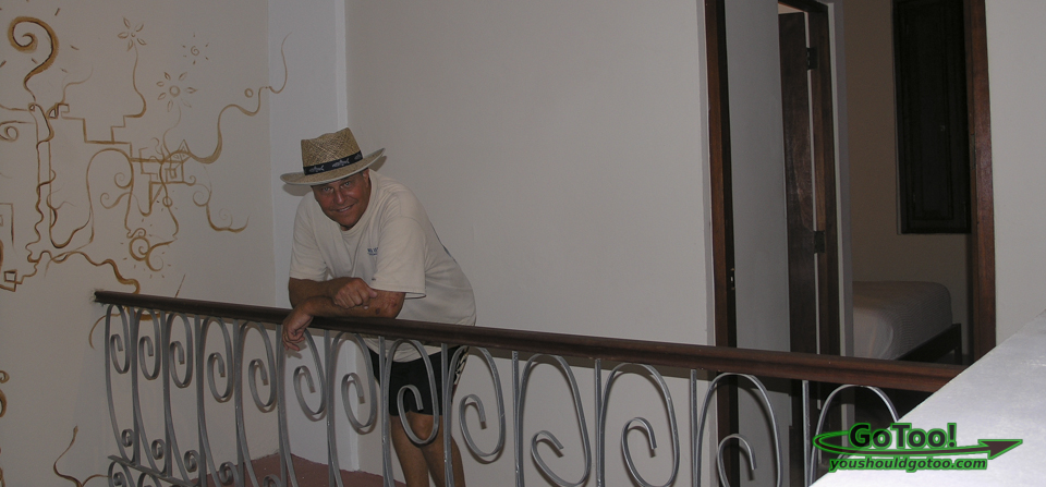 Da House Old San Juan PR Interior Room Balcony