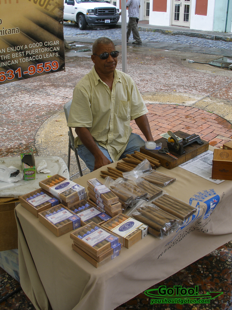 Hand made cigars Old San Juan PR