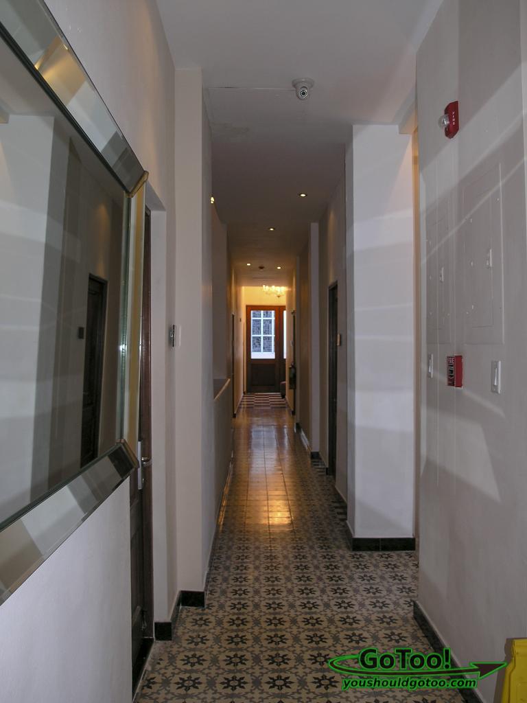 Interior Hallway Da House Hotel Old San Juan PR