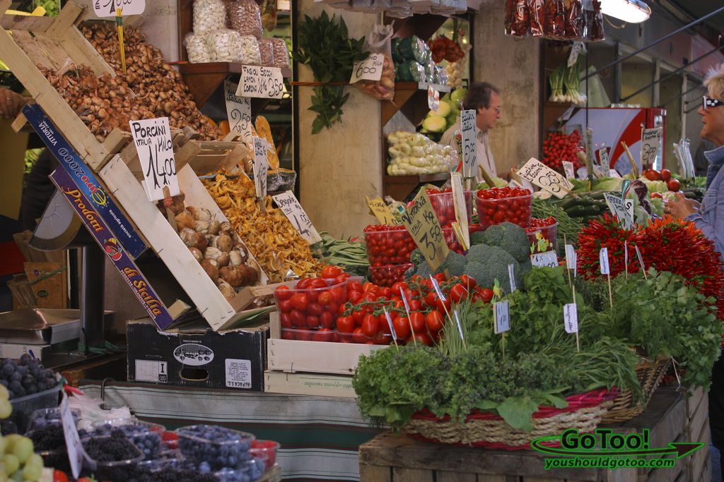 Market Venice Fruits Vegetables Italy