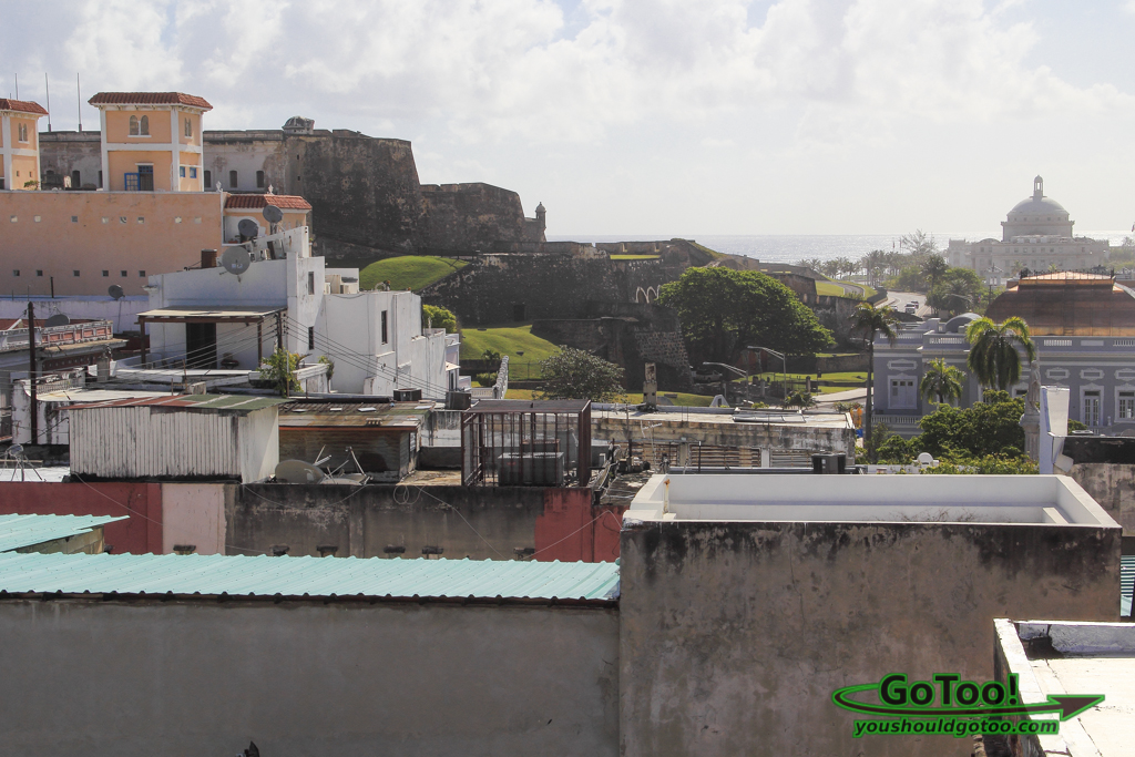 Rooftop View Da House Old San Juan PR