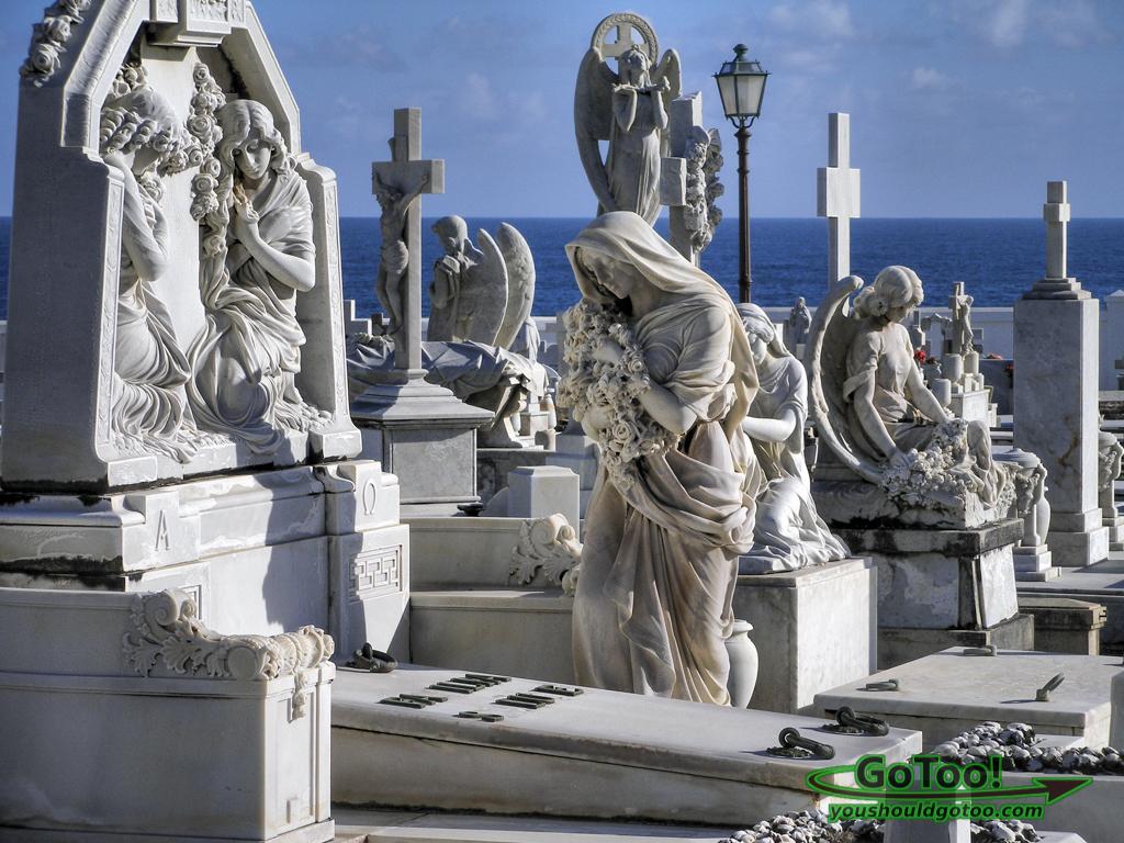 Santa Maria Magdalena Cemetery Old San Juan PR