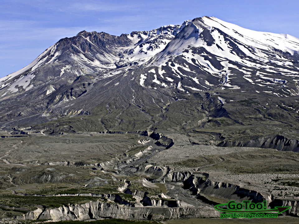 Volcanic Explosion on Mt St Helens Caused Wide Spread Damage