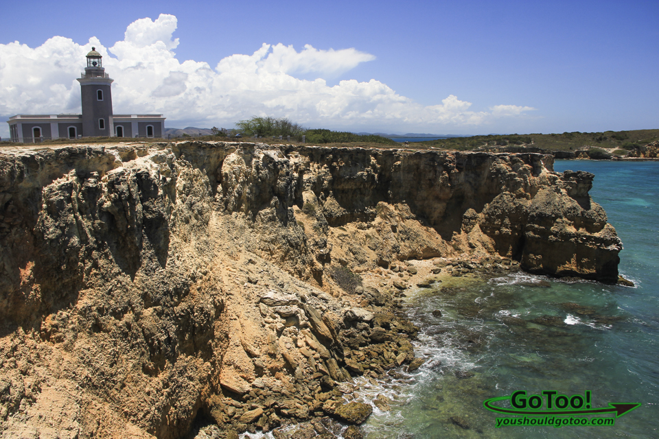 Cabo Rojo Los Morrillos lighthouse cliffs