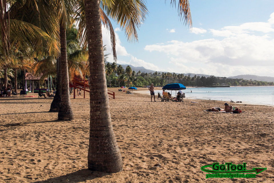 Luquillo Beach in Puerto Rico