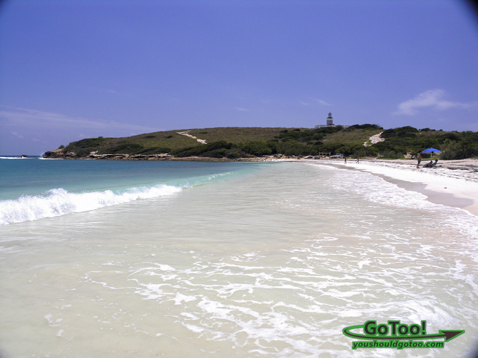 Playa Sucia white sand beach turquoise water