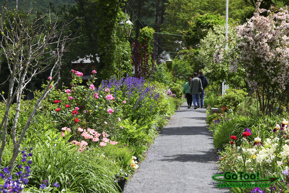 Bridge of Flowers in Shelburne Falls MA