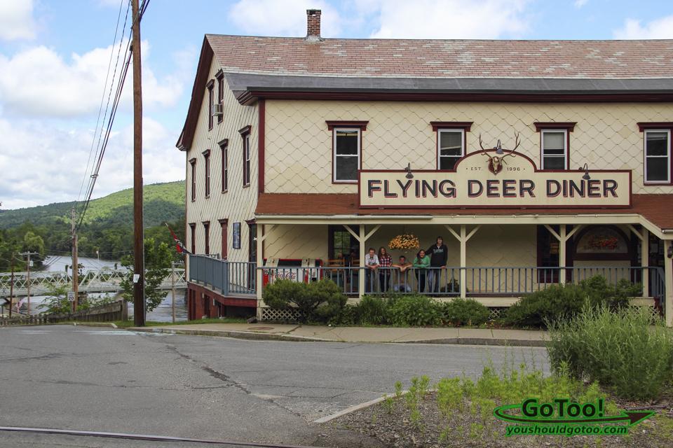 Flying Deer Diner in The Judge Movie
