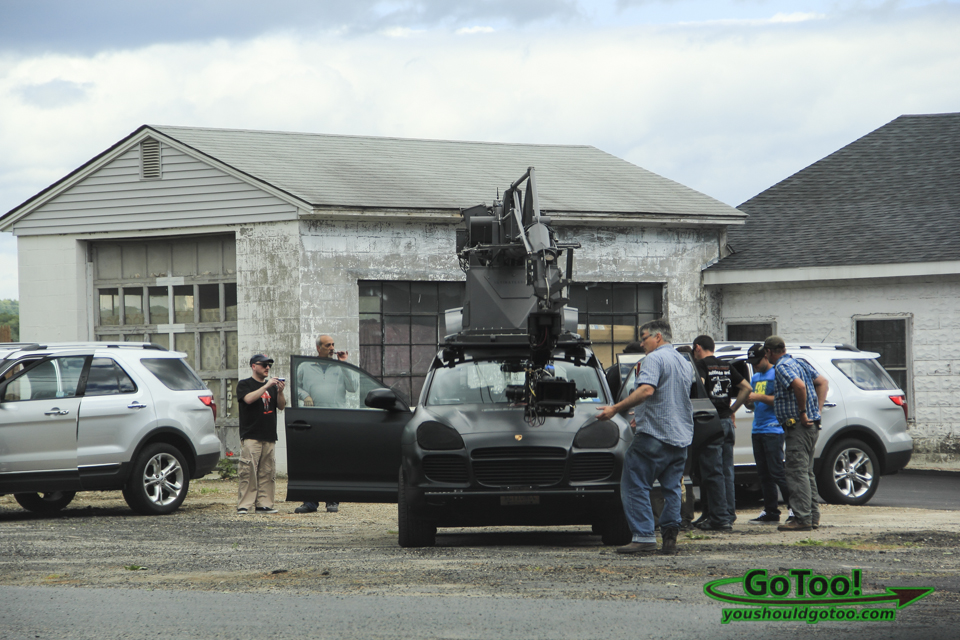 Porsche Cayenne used in filming The Judge with Robert Downey Jr